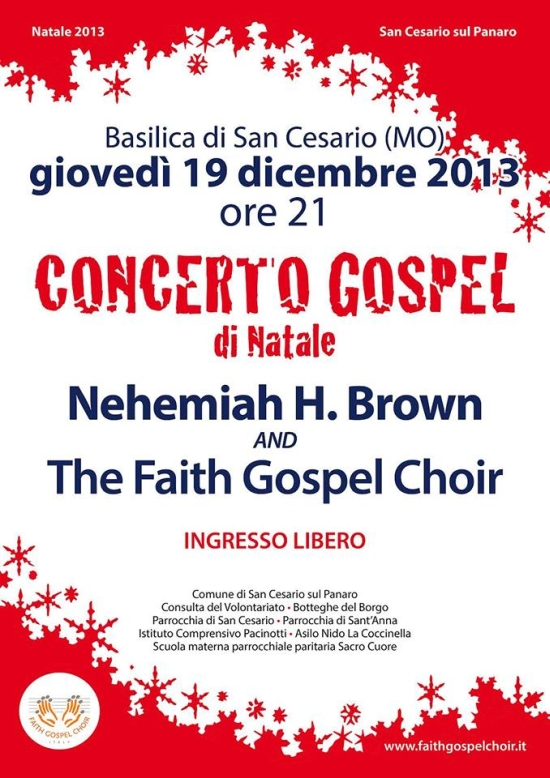 concerto gospel faith gospel choir