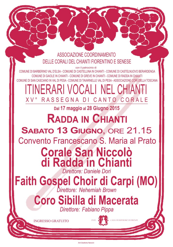 Faith Gospel Choir a Radda in Chianti